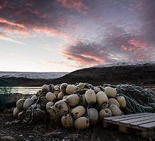 the small fishing village by JorunnSjofn Gudlaugsdottir