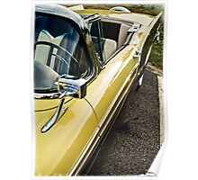 1957 Ford Fairlane 500 Skyliner Retractable Hardtop Convertible Poster