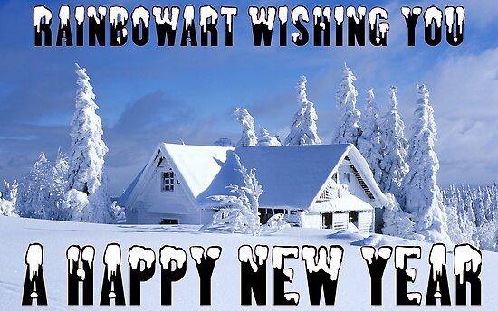 RAINBOWART WISHING YOU A HAPPY NEW YEAR by RainbowArt