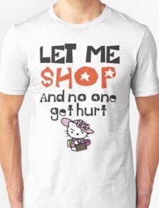 shopaholic  Unisex T-Shirt