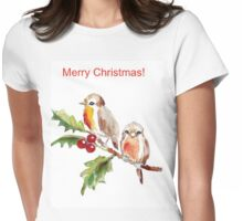 Merry Christmas to you! Womens Fitted T-Shirt