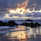Sunset reflection by Eunice Atkins