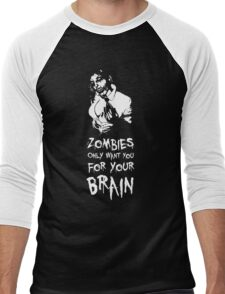 Zombies are all the same! Men's Baseball ¾ T-Shirt