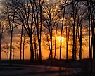 Sunset At Presque Isle by Kathy Weaver