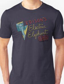 Electric Elephant BBQ Unisex T-Shirt