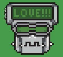 Love-Hate Bot - Love by JoesGiantRobots