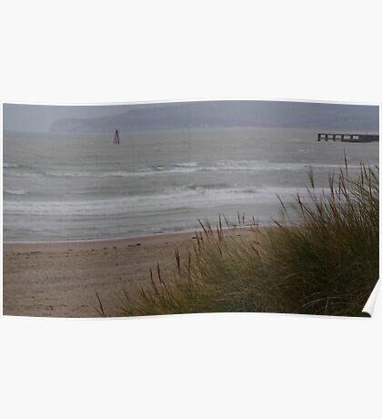 Camber Sands to Fairlight in Winter Poster