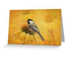 Little Chickadee Greeting Card