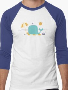 Beached Whale Men's Baseball ¾ T-Shirt