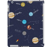 Space Doodles iPad Case/Skin