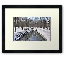 Another Snowy River Scene Framed Print