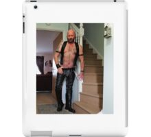 Troy - Leathered & Welcoming.. iPad Case/Skin