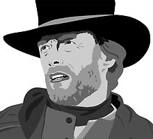 The legend Clint Eastwood by Paul Dunkel