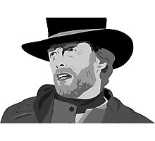 The legend Clint Eastwood Photographic Print