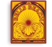 BELLS BEACH Canvas Print