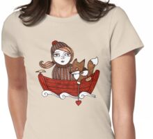 Fees Fox Womens Fitted T-Shirt