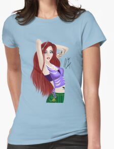 Mermaid of the Sea Womens Fitted T-Shirt