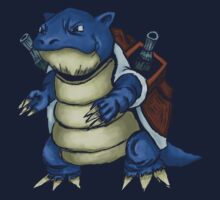 Blastoise #9- Pokemon T-Shirt