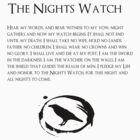 Night's Watch by amy kephart