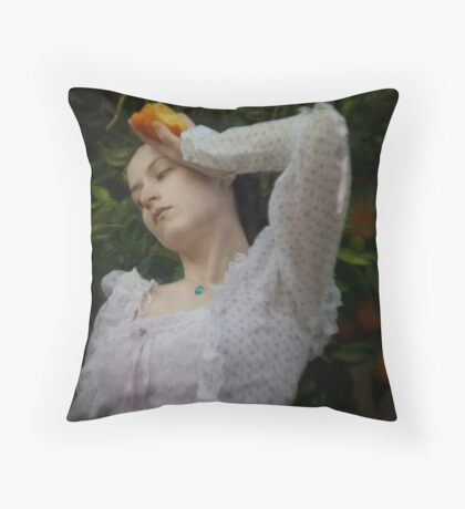 Oranges Throw Pillow