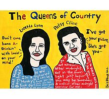 Queens of Country Folk Art Photographic Print