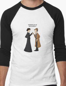 sherlock who? Men's Baseball ¾ T-Shirt