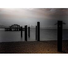 West Pier Requiem Photographic Print