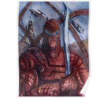 Aquanoid Warrior Poster