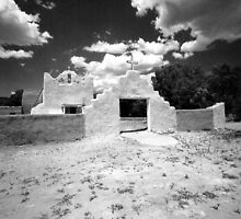 San Lorenzo de Picuris, Picuris Pueblo by Susan Chandler & Gordon Lukesh