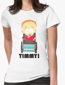 Timmy (South Park) Womens Fitted T-Shirt
