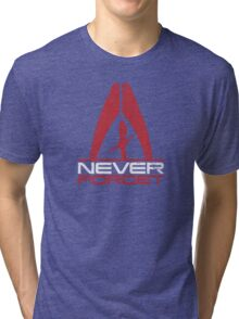 Never Forget: Shep v1 Tri-blend T-Shirt