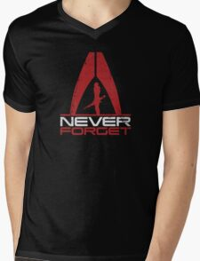 Never Forget: Shep v1 Mens V-Neck T-Shirt