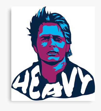 Marty McFly Pop Art Canvas Print