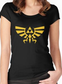Crest of hyrule Women's Fitted Scoop T-Shirt