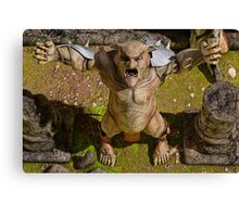 The Ogre's Cry Canvas Print