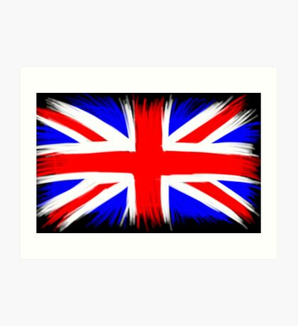 Union Jack - Flying the Colours Art Print