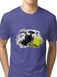 GOD SAVE THE QUEEN Tri-blend T-Shirt