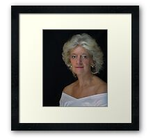 The Mature Lady Framed Print