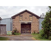 Carriage house Photographic Print