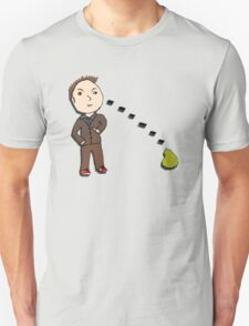 10th Doctor vs. the Pear T-Shirt