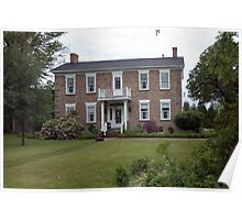 "Stately 2 story ""mansion"" Poster"