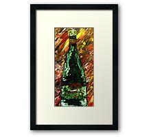Sensual Explosion Bottle 1 Framed Print