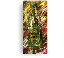 Sensual Explosion Bottle 2 Canvas Print