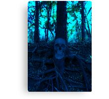 Cold Bloom (poster) Canvas Print