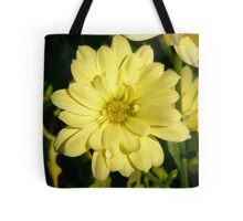 Evening Yellow Tote Bag
