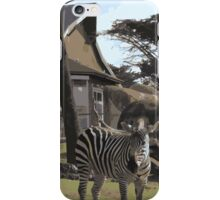 Zebra Case iPhone Case/Skin