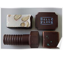 Belle Fleur chocolate selection Poster