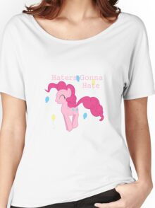 Pinkie Pie Haters-gonna-hate Women's Relaxed Fit T-Shirt