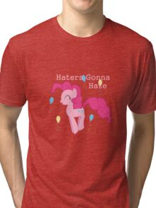 Pinkie Pie Haters-gonna-hate Tri-blend T-Shirt