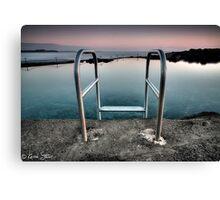 Kiama Rock Pool Sunrise Canvas Print